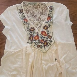Maurices Lace-up Top